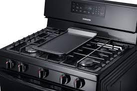 samsung range. samsung nx58f5500sb - 5 burner, 53,000 btu cooktop range