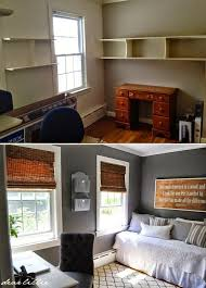 entrancing home office. Entrancing Inspiration. Home Office Bedroom Combination Interior Best 25 Guest Bedrooms Ideas On Pinterest . 5