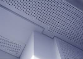 standard flat hard wall and ceiling surfaces can cause sound to bounce and to create noise and disfort v cut acoustic perforated pasteboard will