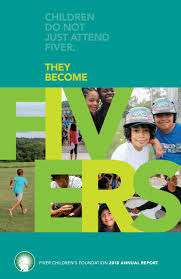 2018 Annual Report by Fiver Children's Foundation - issuu