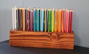 Description. A color pencil holder ...