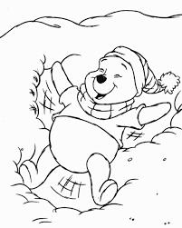 Disegni Da Colorare Disney Natalizi Winnie The Pooh Sulla Neve