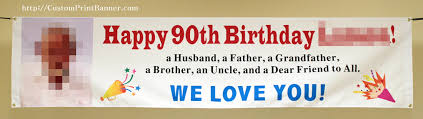 custom happy birthday banner 2ftx8ft custom personalized happy 80th 18th 20th 21st 30th