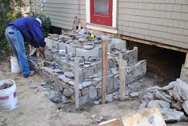 how to lay stone patio beautiful patio stone steps home design ideas and