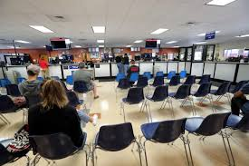 dmv office. Simple Dmv While Dozens Of Residents Wait In Line For About Two Hours Outside The DMV  Office Walnut Creek Calif Empty Chairs Are Available Inside On Friday  And Dmv Office D