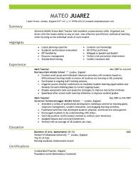 How To Write A Teaching Resume how to write a teacher resume best teacher resume example 1