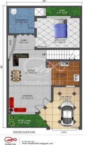 Small Picture 5 marla house plan 1200 sq ft 25x45 feetwwwmodrenplanblogspotcom