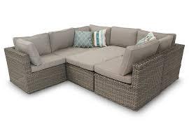 corner furniture piece. rattan corner sofa furniture piece