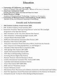 awards for resume achievement examples for resume inspirational sample resume with