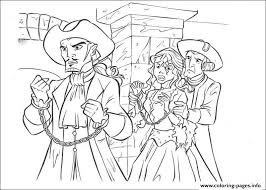 Small Picture PIRATES OF THE CARIBBEAN Coloring Pages Free Printable