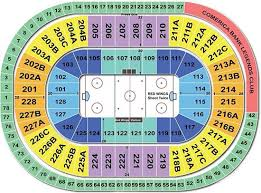 28 Right Little Caesars Arena Detroit Seating Map
