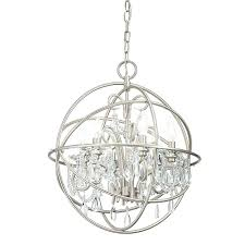 globe chandeliers cage crystal chandelier antique bronze