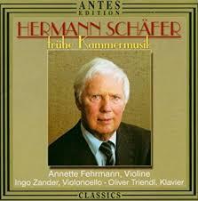 Herman Schafer - Fruhe Kammermusik: Son No 2 for Violin & Pn by ...