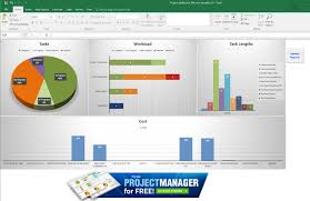Project Management Microsoft Excel 012 Ms Excel Templates For Project Management With Microsoft Task