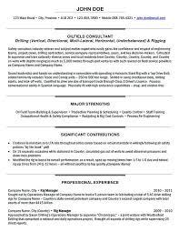 Project Manager Sample Resume Format Rig Manager Resume Sample