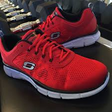 sketchers tennis shoes. have him feeling ready to take on a new workout in these skechers memory foam sneakers sketchers tennis shoes s