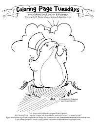 Small Picture dulemba Coloring Page Tuesday Groundhog Day