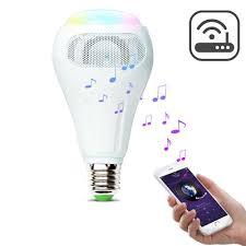 Speaker Light Bulb Alexa Arilux E27 12w Rgb W Ww Smart Wifi App Control Led Light Bulb Speaker Work With Alexa Ac110 240v