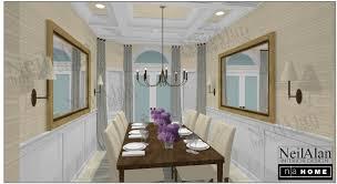 interior design san diego. Neil Alan Designs - San Diego Interior Design Calle Dining Room B.jpg O