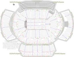 Philips Arena Seat Row Numbers Detailed Seating Chart