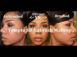difference applying with a brush vs