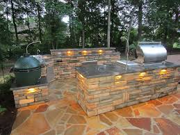 outdoor grill island plans lamps