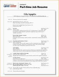 Prepossessing Resume Looking For Part Time Job Also 8 Resume For