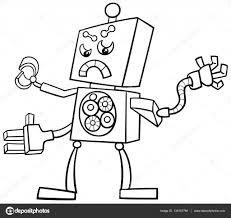 Robot Kleurplaat