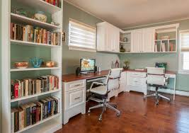 home office desk design fresh corner. furniture fine white home office design using modular desk with wooden top also built in fresh corner
