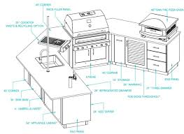 u shaped outdoor kitchen ideas house plans with l layout appliances tips and review architectures pretty outdoor kitchen plans