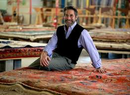 bill elovitz said he began ing rugs because it let him deal with beautiful things