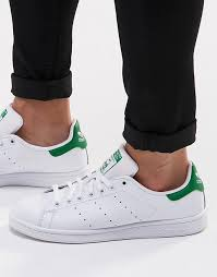 adidas originals stan smith. adidas originals | stan smith leather trainers in white m20324 n