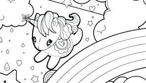 Realistic Unicorn Coloring Pages Printable Pdf Emoji Rainbow Page