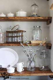 island design ideas designlens extended: dining room open shelving by the wood grain cottage for styling ideas