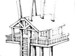 Small Picture Treehouse Awesome Design Coloring Page Color Luna