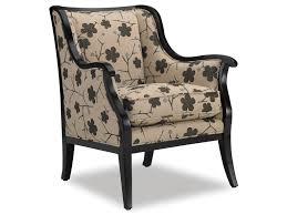 Wooden Chairs For Living Room Sam Moore Living Room Cadence Exposed Wood Chair 4384 Sam Moore