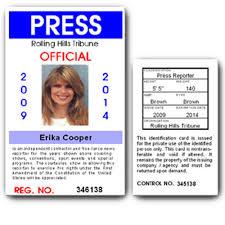 Pvc C01pvc Press Card Id