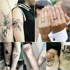 парные татуировки для двоих подруг парные тату и их значение