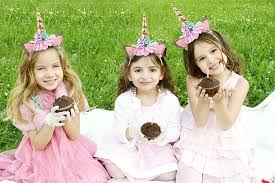 <b>Unicorn Headbands Party Supplies</b> - Value 5 Pack One Size fits All ...