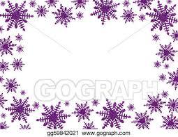 purple snowflake border. Delighful Border Snowflake Border On Purple L