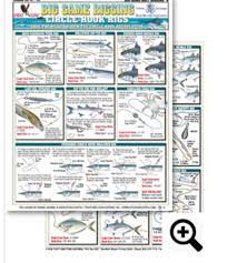 Rigging Chart Big Game Rigging Chart 6 Circle Hook Rigs Contains
