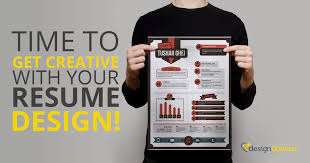 Time To Get Creative With Your Resume Design Designcontest