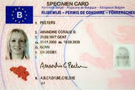 Exchange One Here To How Belgian Living Driving Licence Your A For