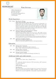 Curriculum Vitae Sample Magnificent Example Format In Curriculum Vitae Samples Template Caption Cv