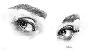 realistic pencil drawings of eyes