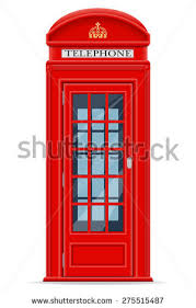 london phone booth isolated on white stock vector  london red phone booth vector illustration isolated on white background