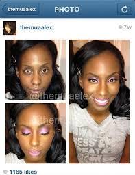 makeup ideas dramatic makeup transformations image dramatic transformation makeup for black women pc