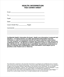 Sample Personal Fax Cover Sheet Template Harezalbaki Co