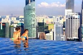 infinity pool singapore hotel. Pleasant Marina Bay Singapore Sunset Night View At The Infinity Pool Tripadvisor: Full Size Hotel