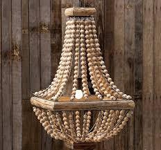 interior wood bead chandelier new large world market intended for 0 from wood bead chandelier